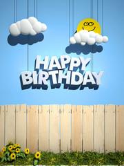 Happy Birthday, perfect day