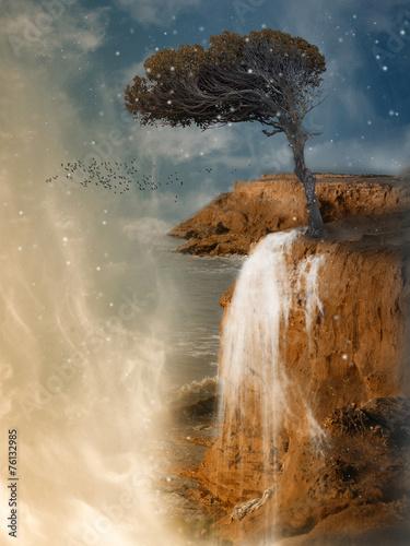 canvas print picture Fantasy landscape