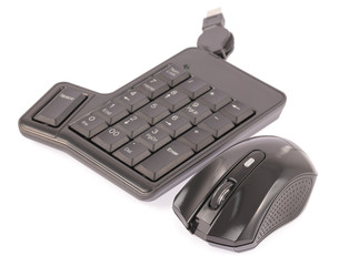 mouse and computer keyboard