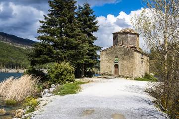 Orthodox Church next to Lake