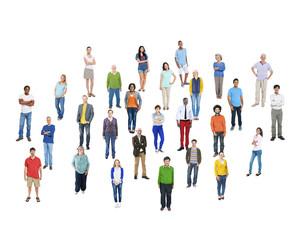 Diversity Ethnicity Unity Togetherness Community Concept