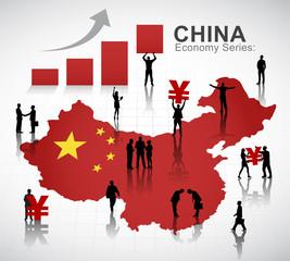 Chinese Economy Concept