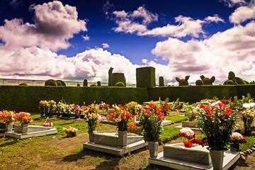 A glimpse into a columbian cemetery