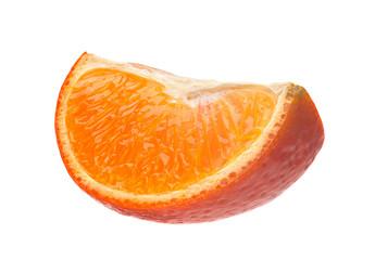 Tangerine citrus slice