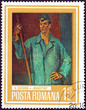 Постер, плакат: Working Man by Henri Catargi Romania 1973