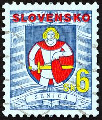 Senica coat of arms (Slovakia 1996)