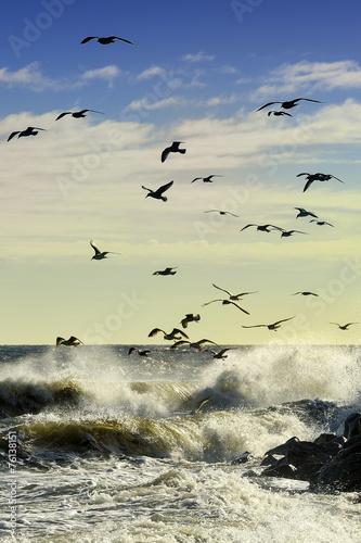 Krajobraz Morski, morze, wybrzeże, Bałtyk