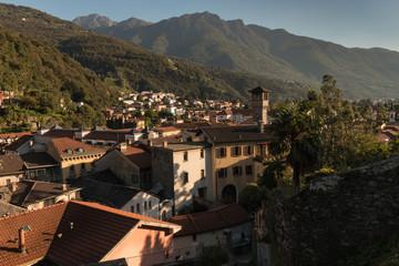 Bellinzona town in Ticino, Switzerland