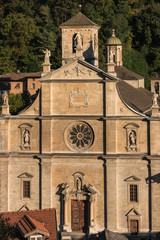 Renaissance cathedral in Bellinzona