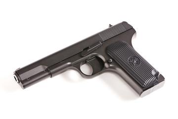 Russian gun TT isolated
