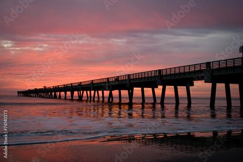 obraz PCV Fishing Pier