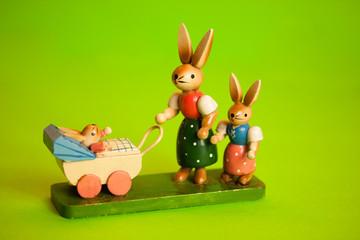 Osterhasenfamilie