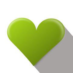 herz single grün
