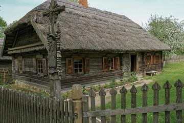 Ancestor  wooden house