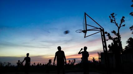 Baketball Match