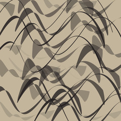 Abstract curve textured background