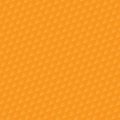 orange triangle pattern. Vector background. Geometric abstract t