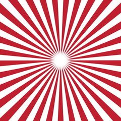 red burst background. Vector illustration