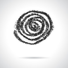 Swirl design element