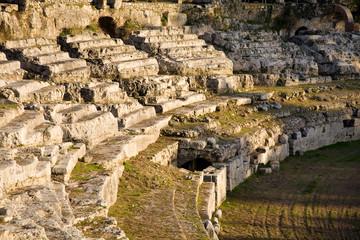 Roman amphitheatre, Syracuse, Italy