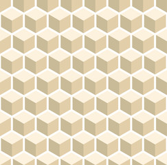 A seamless cube style pattern illustration
