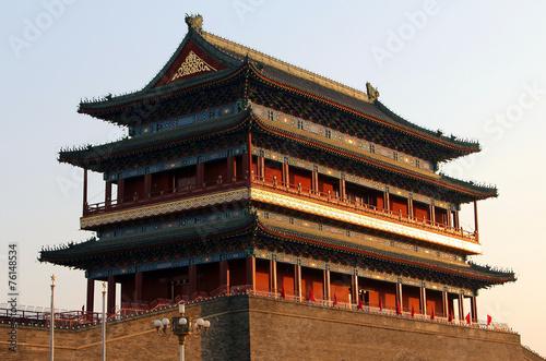 Foto op Aluminium Beijing Bell tower (Zhonglou) in Beijing, China