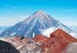 Koryaksky volcano on Kamchatka Peninsula, Russia.