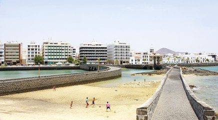 Camino al castillo de San Gabriel, Arrecife, Lanzarote
