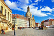 elegat Dresden, square in old town