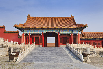 China Forbidden city Internal Gate