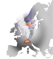 Schweizer Franken in Europa