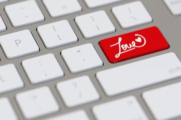 Symbol für Online-Dating und Partnerbörse