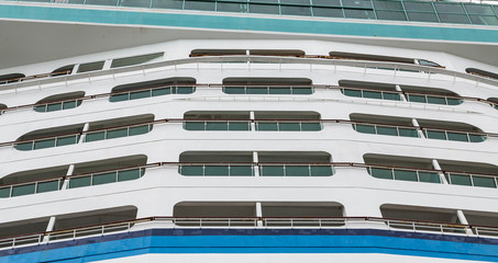 Cruise Ship Decks and Windows