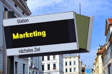 Anzeigetafel 7 - Marketing