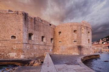 Fort St. John. Dubrovnik. Croatia.