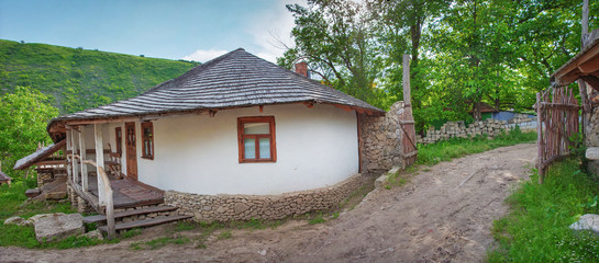 Old farm in Butuceni, Moldova