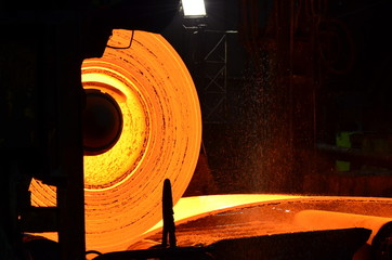 Hot-rolled steel