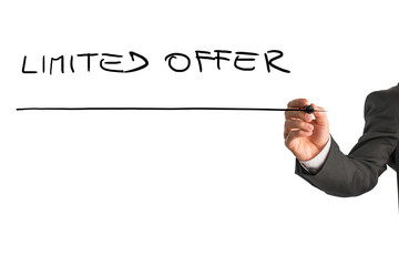 Writing Limited offer on virtual whiteboard