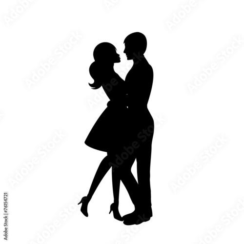 Couple dancing - 76154721