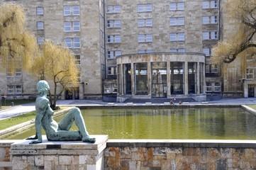Gebäude der Frankfurter Universität