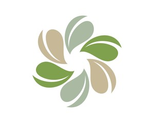 Flower Logo Template v.7