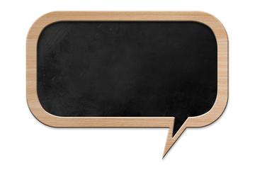 Speech bubble shaped Blackboard