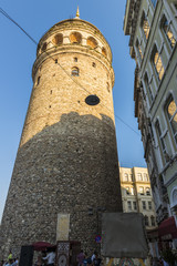 old Istanbul Tower galata- symbol of the city