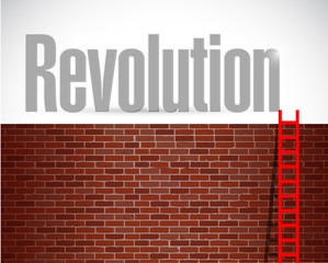 clime to revolution. illustration design
