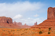Famous rock formations of Monument Valley tribal park - 76158519