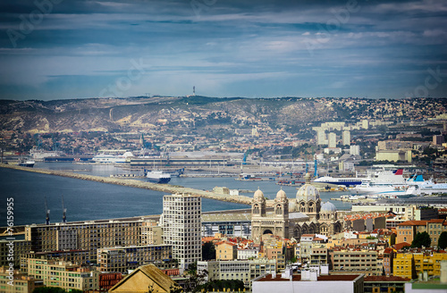 Marseille City and its Harbor