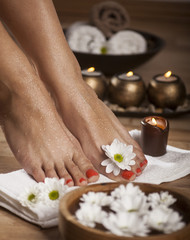 Foot Spa Background