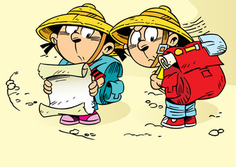 young treasure hunters