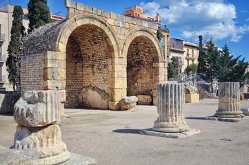 Roman Ruins in Tarragona, Spain
