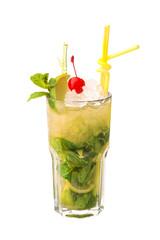 Apple Mojito Cocktail